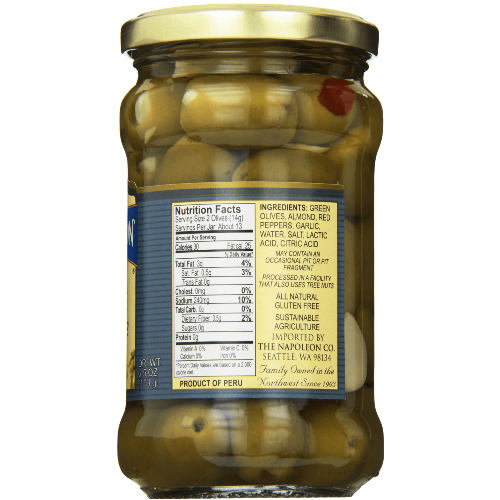 Napoleon-Triple-Stuffed-Olives,-6.5-Ounce