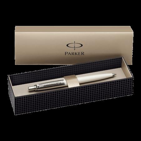 Parker-Jotter-Red-Chrome-Trim-Ball-Pen-Gift-Boxed
