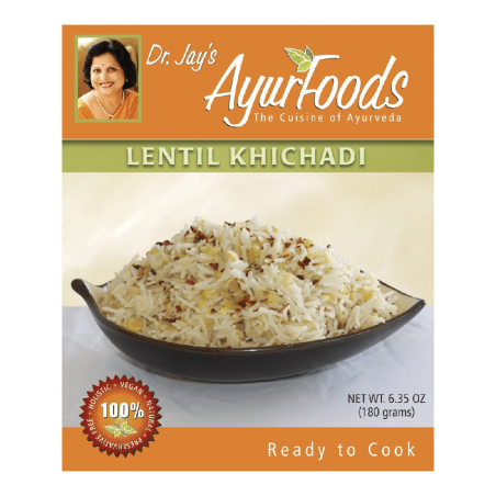 Premium-Blend-of-Basmati-Rice,-Lentils-and-Spices