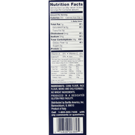 Gluten-Free-Pasta,-Penne,-Barilla-12-Ounce-(Pack-of-12)